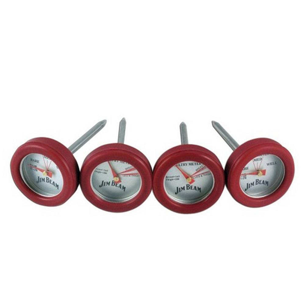 4-Piece Mini Barbecue Thermometer Set