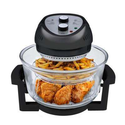 16 Qt. Convention Countertop Oil-less Oven in Black