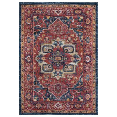 United Weavers Bali Arubia Brick 7 ft. 10 in. x 10 ft. 6 in. Area Rug