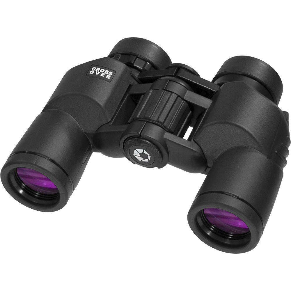 Crossover 8x30 Waterproof Binoculars in Black