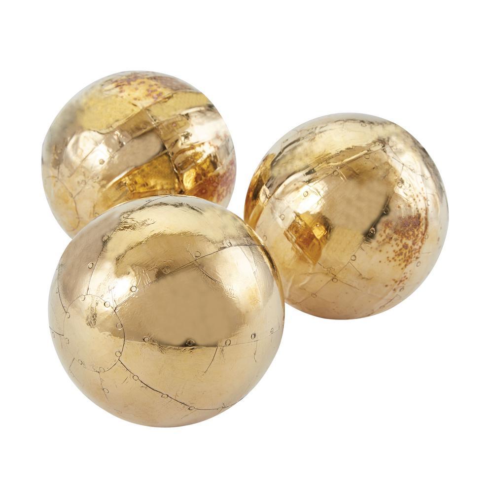 German Silver Metallic Orbs