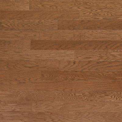 Brushed Oak Parchment 3/8 in. x 6-1/4 in. Wide x Random Length Engineered Click Hardwood Flooring (32.2 sq. ft. / case)