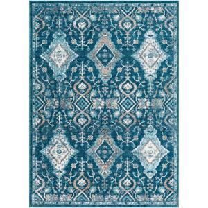 Deals on Artistic Weavers Zora Teal 2 ft. x 3 ft. Oriental Area Rug