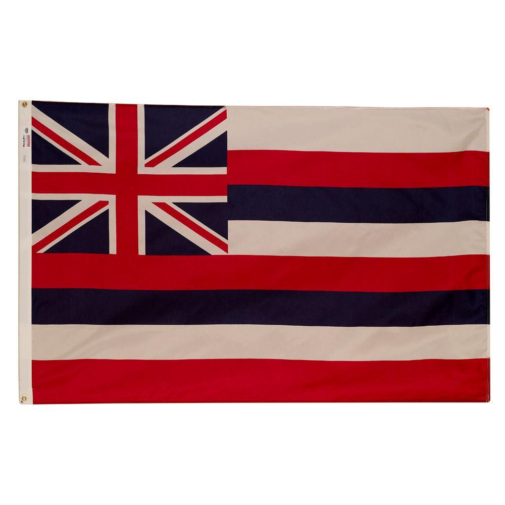 3 ft. x 5 ft. Nylon Hawaii State Flag