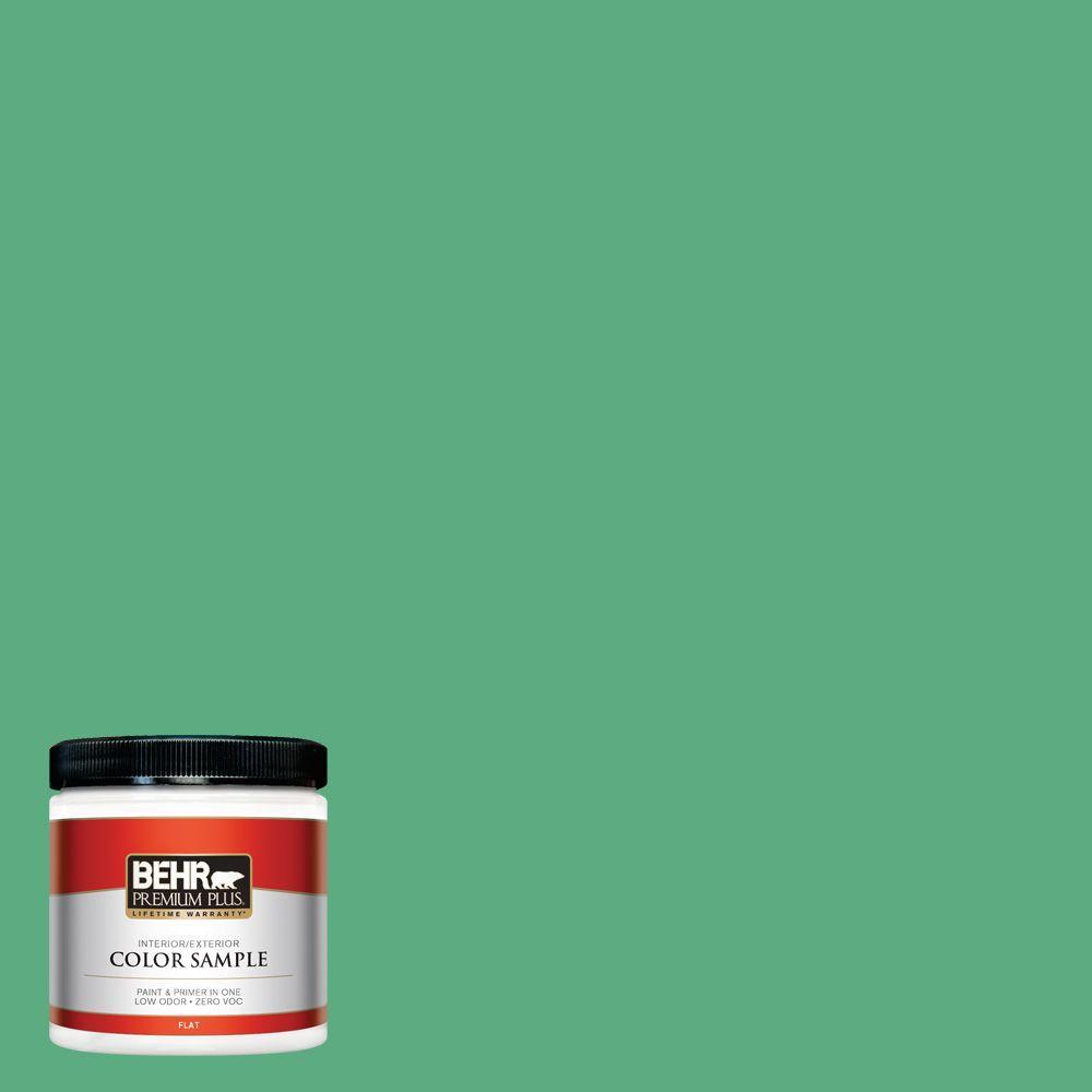 BEHR Premium Plus 8-oz. #T14-4 Edgewater Interior/Exterior Paint Sample