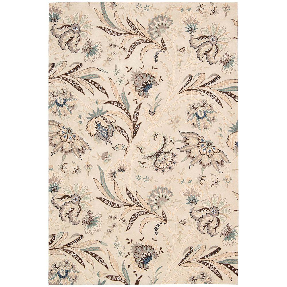 Gatsby Ivory 3 ft. 9 in. x 5 ft. 9 in.