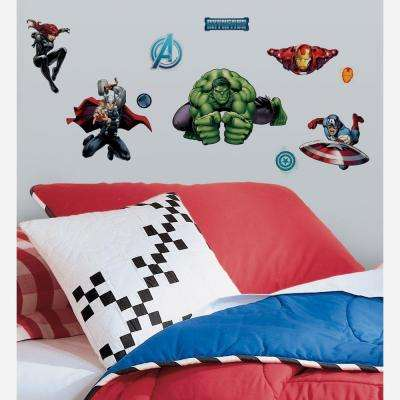 Avenger Assemble Peel and Stick 28-Piece Wall Decals
