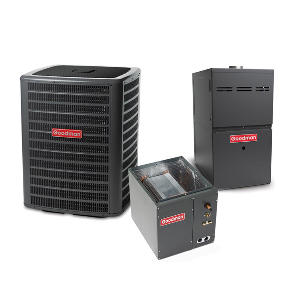 winchester 3 ton 14 seer mobile home split system central air conditioning system with 30 ft. Black Bedroom Furniture Sets. Home Design Ideas