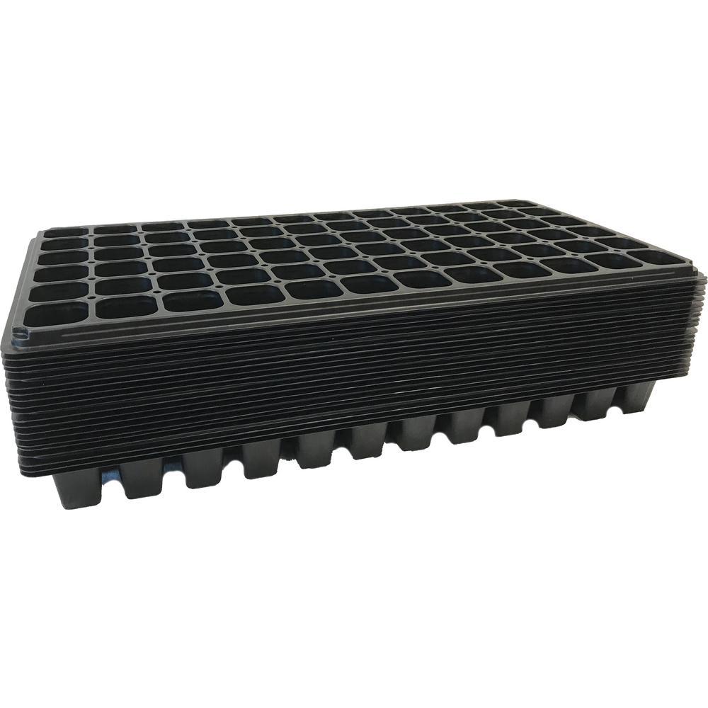 Viagrow 72 Cell Seedling Grow Plugs Starter Trays (20-Pack)
