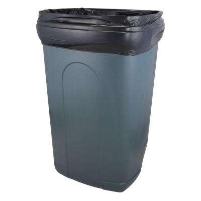 40 Gal. - 45 Gal. Low-Density Black Trash Liners (250-Count)