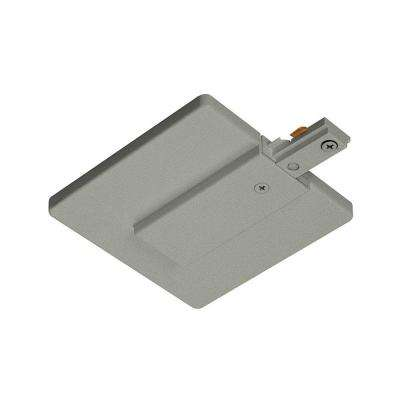 Trac-Lites Nickel J-Box Feed Connector with Cover