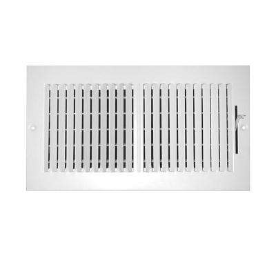 24 in. x 6 in. 2-Way Wall/Ceiling Register