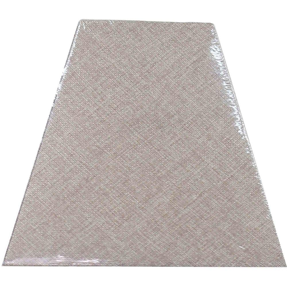 Hampton Bay Mix & Match Textured Oatmeal Linen Square Accent Shade