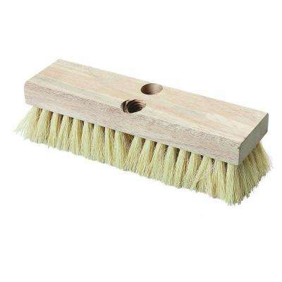 10 in.Tampico Bristled Deck Scrub Brush (Case of 12)