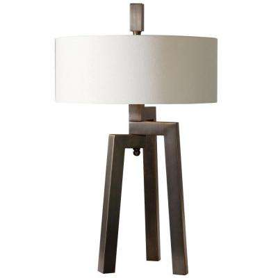 29.5 in. Bronze Table Lamp