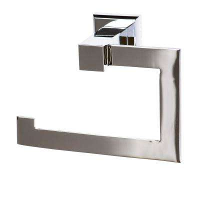 Roma Toilet Paper Holder in Polished Chrome