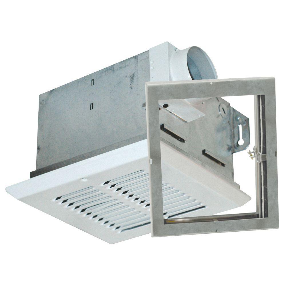 Advantage Fire Rated 50 CFM Ceiling Bathroom Exhaust Fan