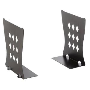 Find It Bookends/File Folder Stand in Black by Find It
