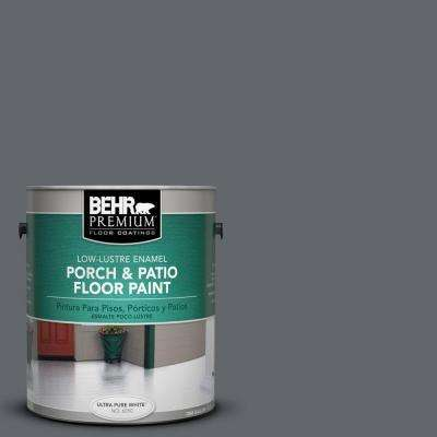 1 gal. #PFC-65 Flat Top Low-Lustre Interior/Exterior Porch and Patio Floor Paint