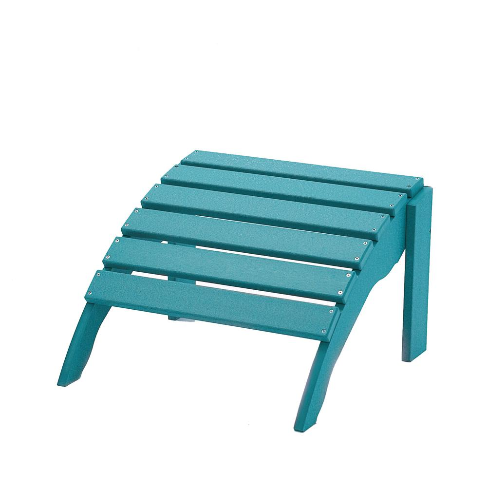 DUROGREEN Icon Aruba Plastic Outdoor Ottoman