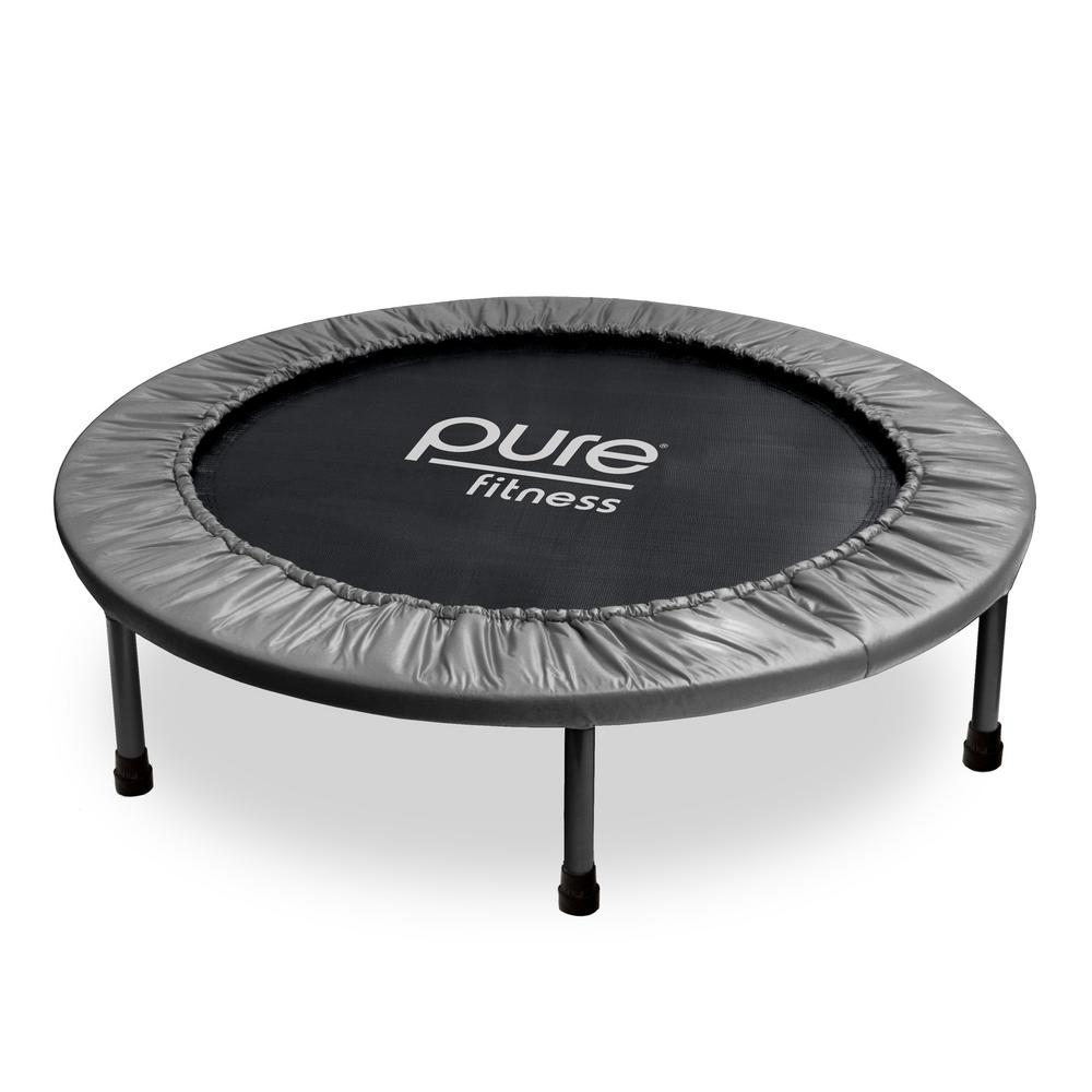 Pure Fitness 38 In. Mini Trampoline Rebounder-9038MT