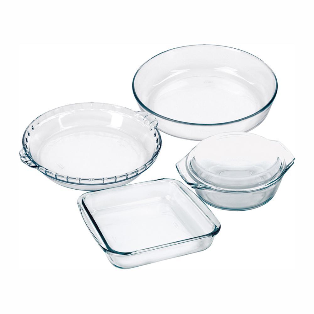 Marinex Celebrity 5-Piece Assorted Glass Bakeware Set 04GD16756935