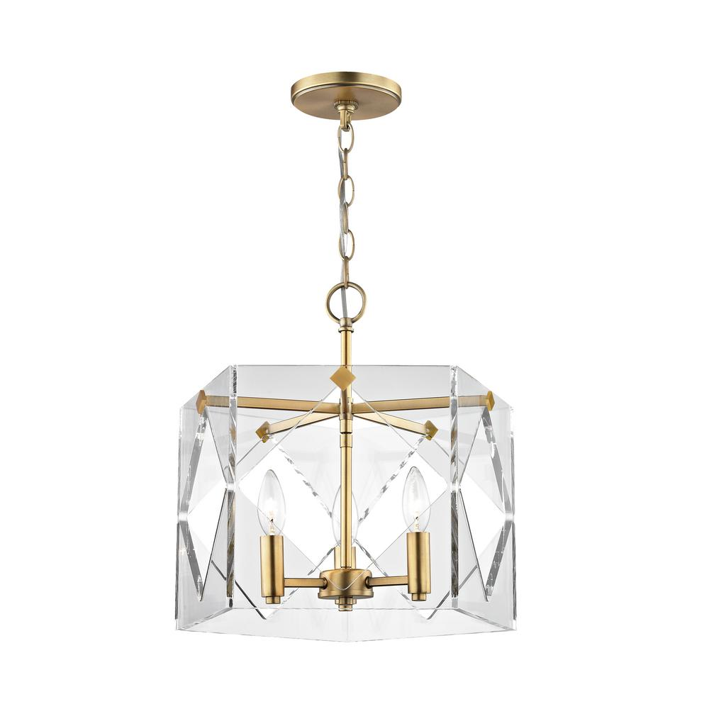 Home decorators collection 3 light aged brass acrylic pendant hd home decorators collection 3 light aged brass acrylic pendant aloadofball Image collections