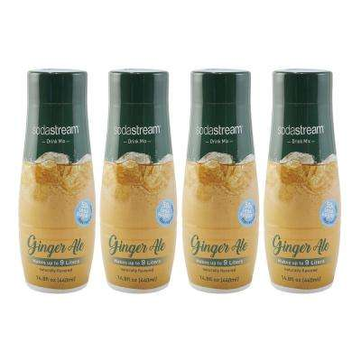 440 ml Fountain Style Sparkling Ginger Ale Drink Mix (Case of 4)