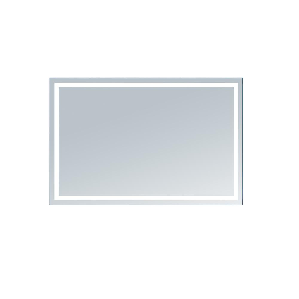 innoci-usa Terra 56 in. x 36 in. LED Mirror-63405636 - The Home Depot