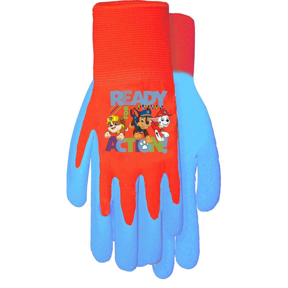 Midwest Gloves & Gear Paw Patrol Blue Gripping Glove