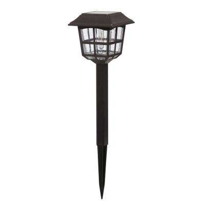 Solar Coffee Brown Outdoor Integrated LED Landscape Path Light