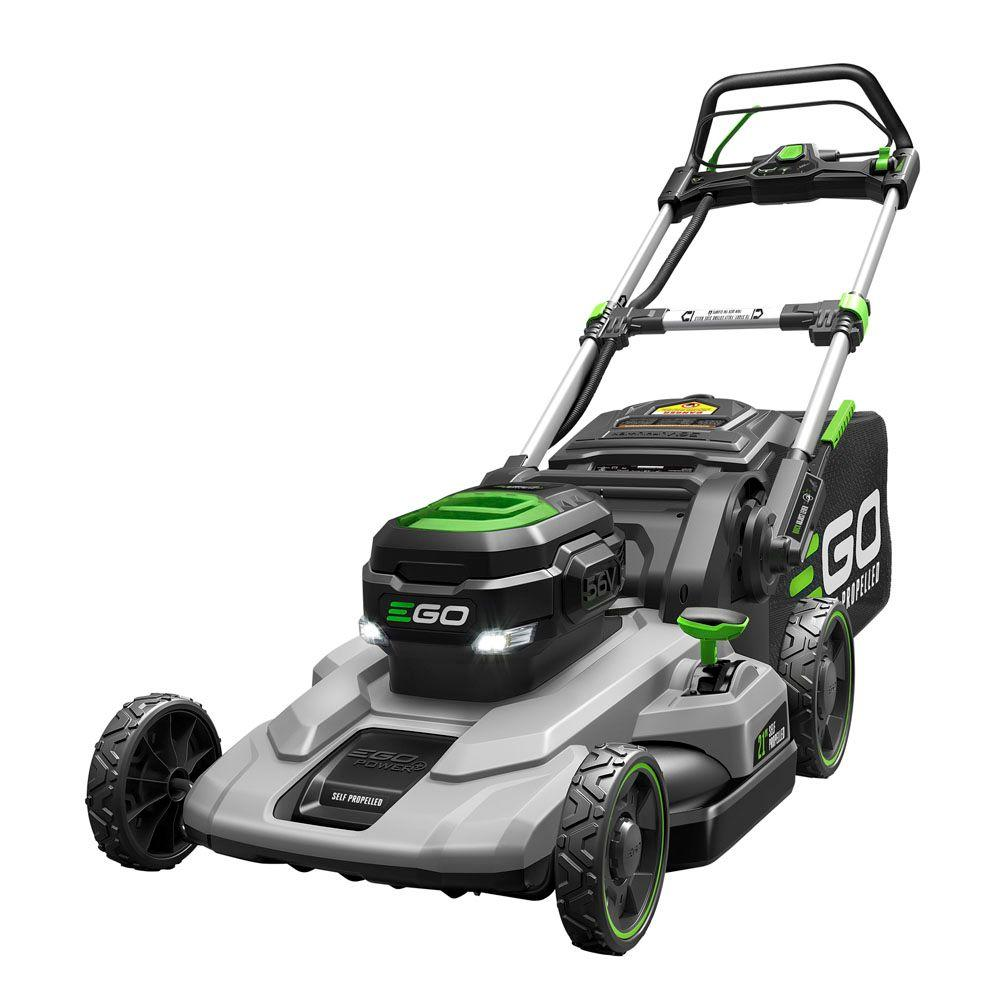 Reconditioned 21 in. 56V Lith-Ion Cordless Walk Behind Self Propelled Mower,