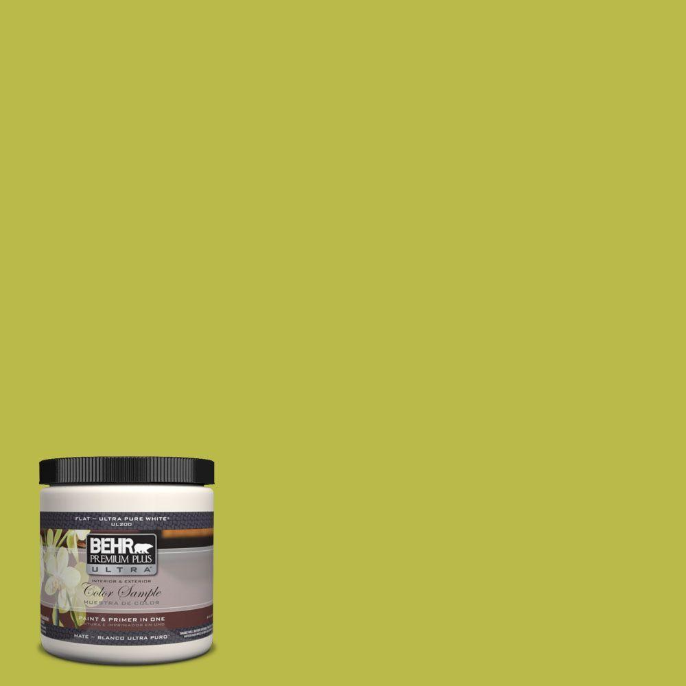 BEHR Premium Plus Ultra 8 oz. #400B-6 Japanese Fern Interior/Exterior Paint Sample