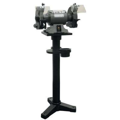 10 in. Shop Bench Grinder with Stand JBG-10B, 1-1/2 HP 115-Volt