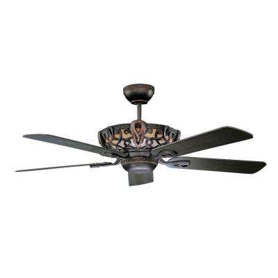 Luminance Aracruz 52 in. Indoor Oil-Rubbed Bronze Ceiling Fan