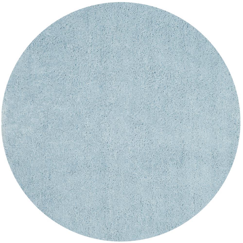 Safavieh Jarrod Light Blue 5 Ft. X 5 Ft. Round Area Rug