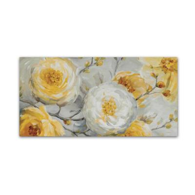 """24 in. x 47 in. """"Sunshine"""" by Lisa Audit Printed Canvas Wall Art"""