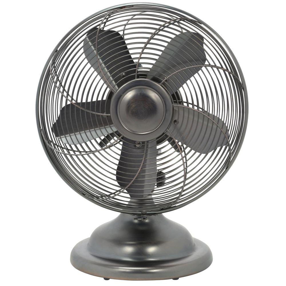 12 In. Retro Table Fan