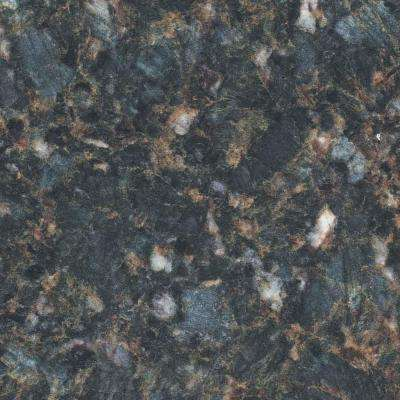 2 in. x 3 in. Laminate Countertop Sample in Deep Springs with Standard Fine Velvet Texture Finish