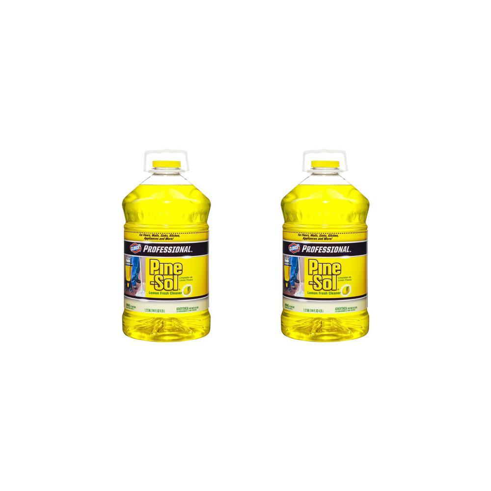 Pine-Sol Professional 144 oz. Lemon Fresh Multi-Surface Cleaner (2-Pack)