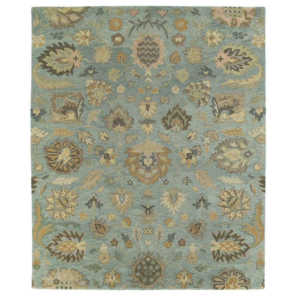 Kaleen Helena Turquoise Area Rug Reviews: Kaleen Helena Troy Spa 10 Ft. X 14 Ft. Area Rug-3203-56 10