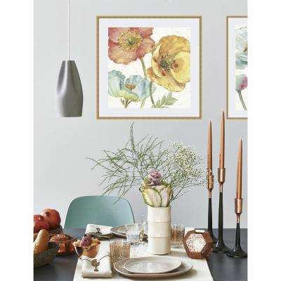 23 in x 23 in 'Spring Softies III' by Lisa Audit Fine Art Paper Print Framed with Glass Wall Art