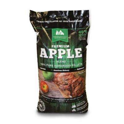 Premium Apple 100% Pure Hardwood Grilling Cooking Pellets