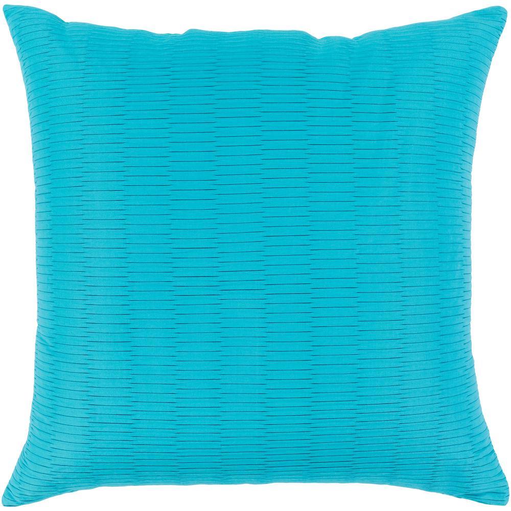 Gordon Blue Geometric Polyester 20 in. x 20 in. Throw Pillow