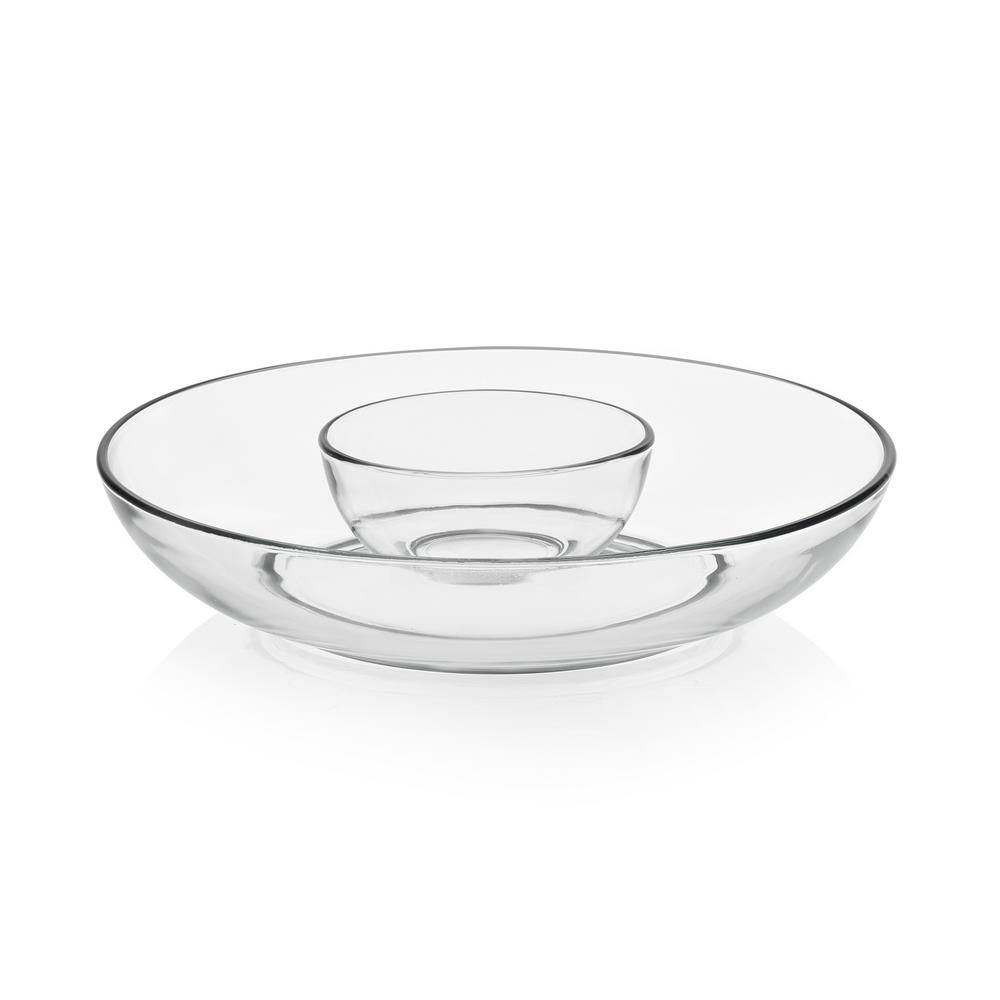 b824dba28f Libbey Game Night 6-piece Classic Can Glass Tumbler Set with Chip and Dip  Bowls and Plastic Lid 99072 - The Home Depot