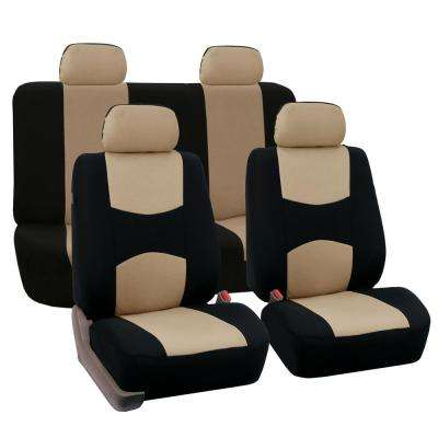 Flat Cloth 21 in. x 21 in. x 2 in. Full Set Seat Covers