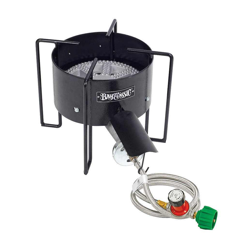 30 psi High Pressure Banjo Cooker with 10 in. Cast Iron