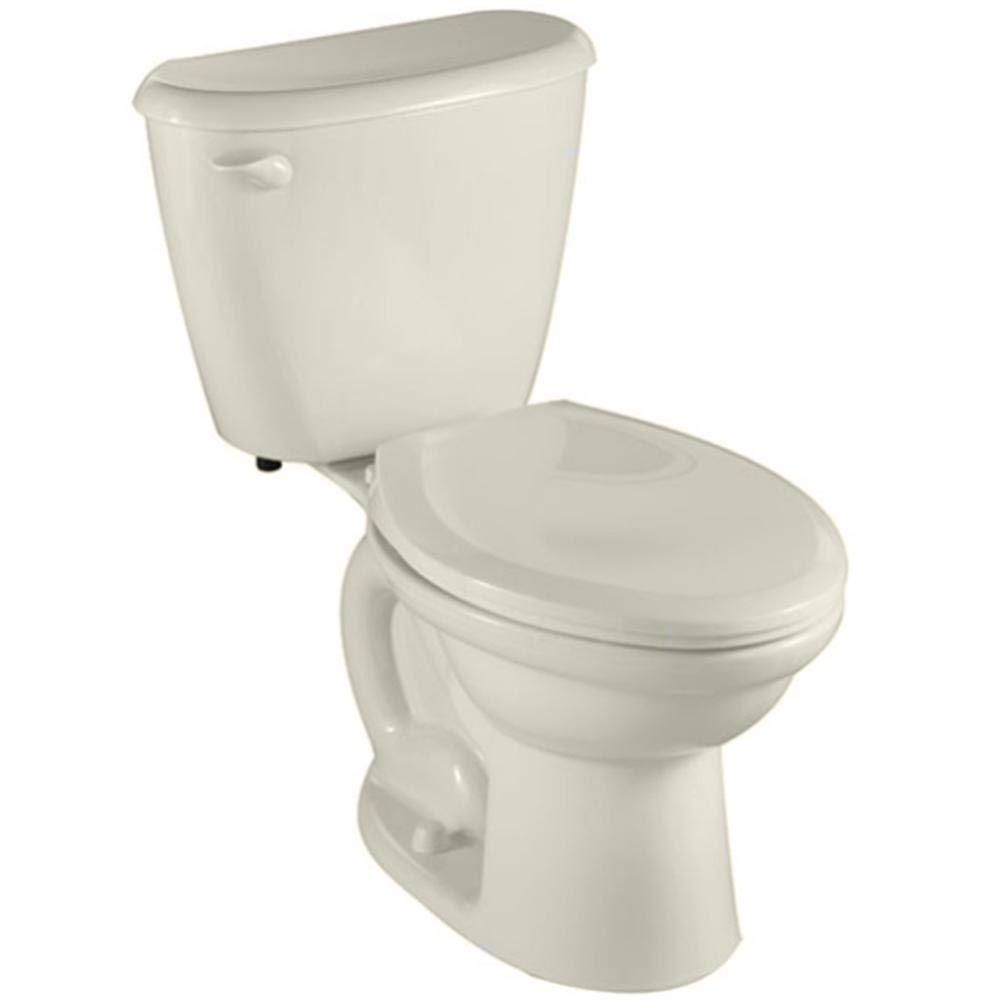 American Standard Colony FitRight 2-piece 1.6 GPF Elongated Toilet in Linen-DISCONTINUED