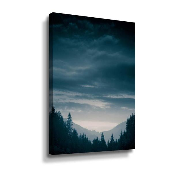 ArtWall Blue Mountains IV' by PhotoINC Studio Canvas Wall Art 5pst235a3248w