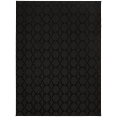 Sparta 9 Ft. x 12 Ft. Area Rug Black